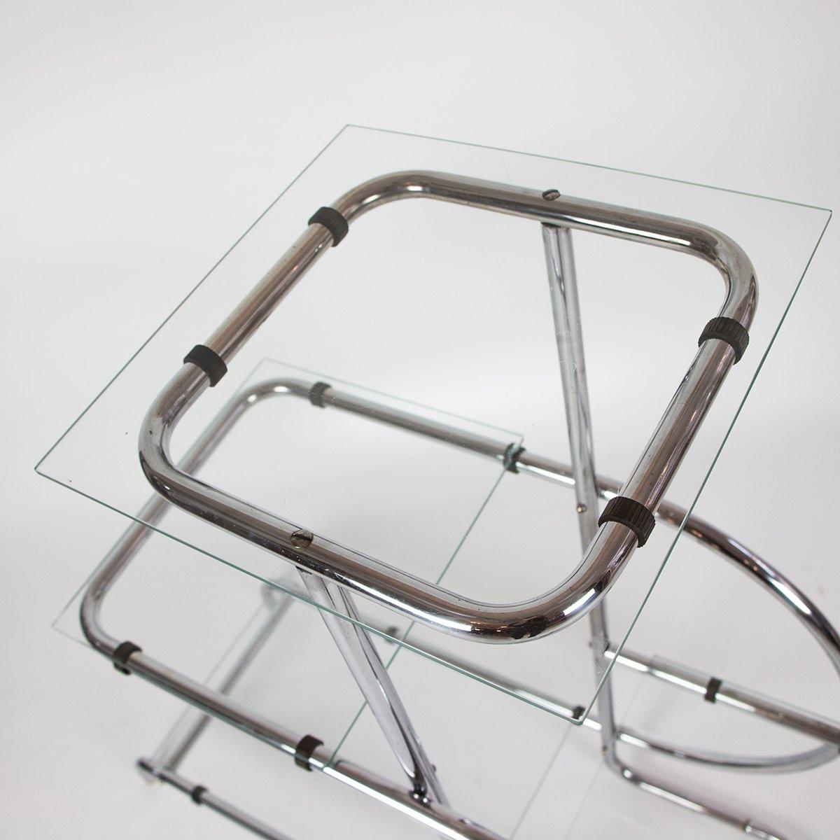 bauhaus regal aus stahlrohr bei pamono kaufen. Black Bedroom Furniture Sets. Home Design Ideas