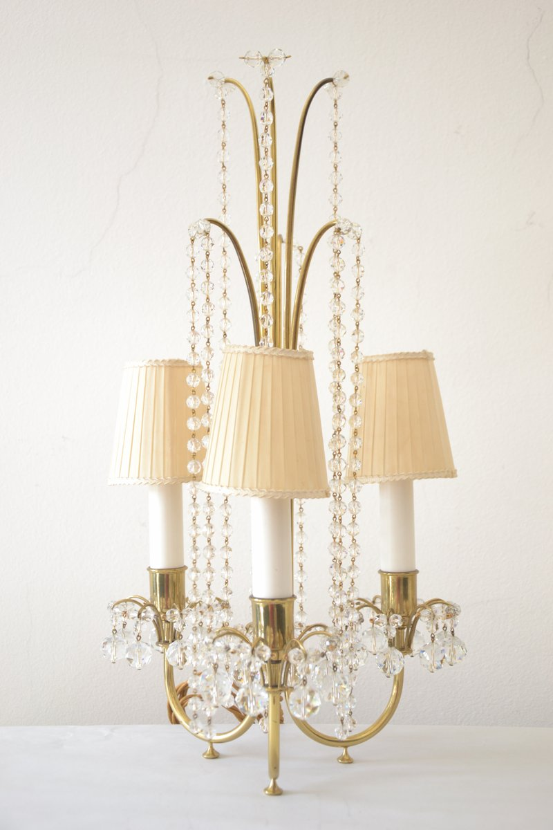Table Lamps By J Amp L Lobmeyr 1950s Set Of 2 For Sale At