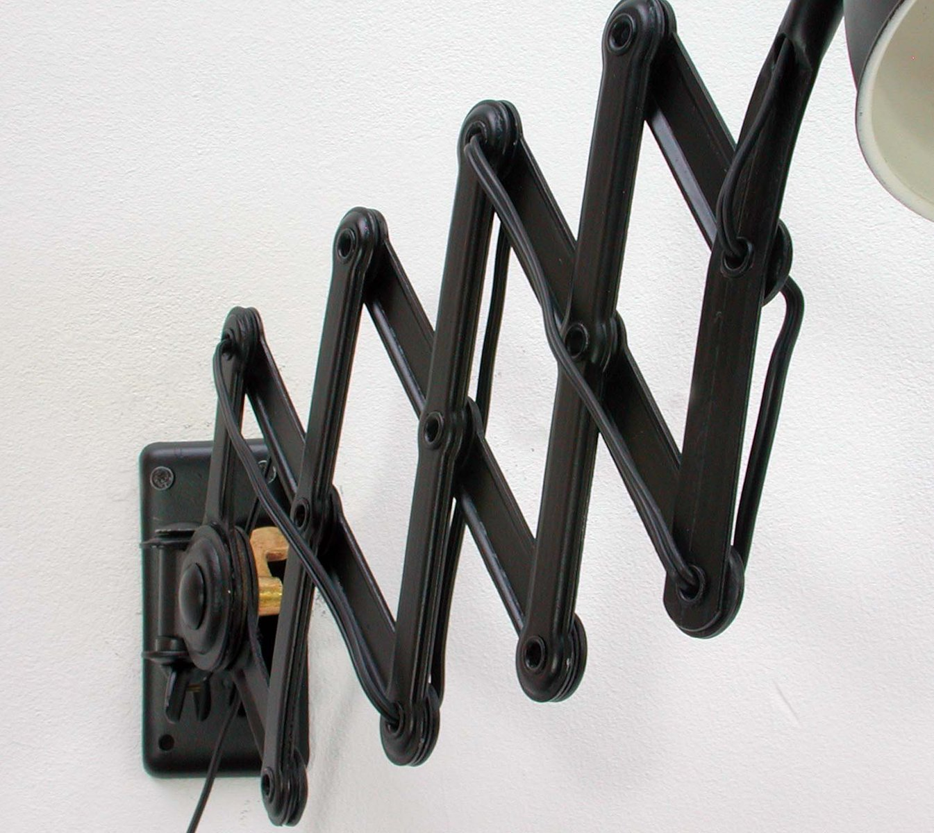 Black 6718 Scissor Lamp By Christian Dell For Kaiser Idell
