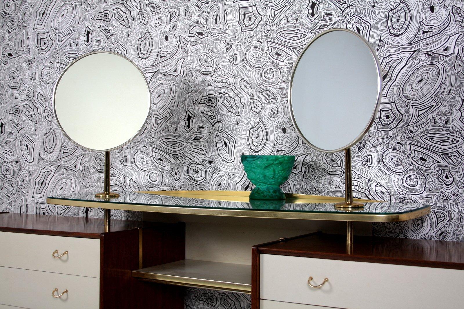 gro er frisiertisch mit 2 spiegeln von g plan 1958 bei pamono kaufen. Black Bedroom Furniture Sets. Home Design Ideas