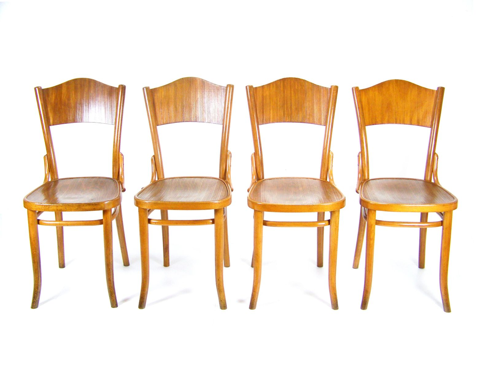 120 Chairs From Thonet, 1920s, Set Of 4
