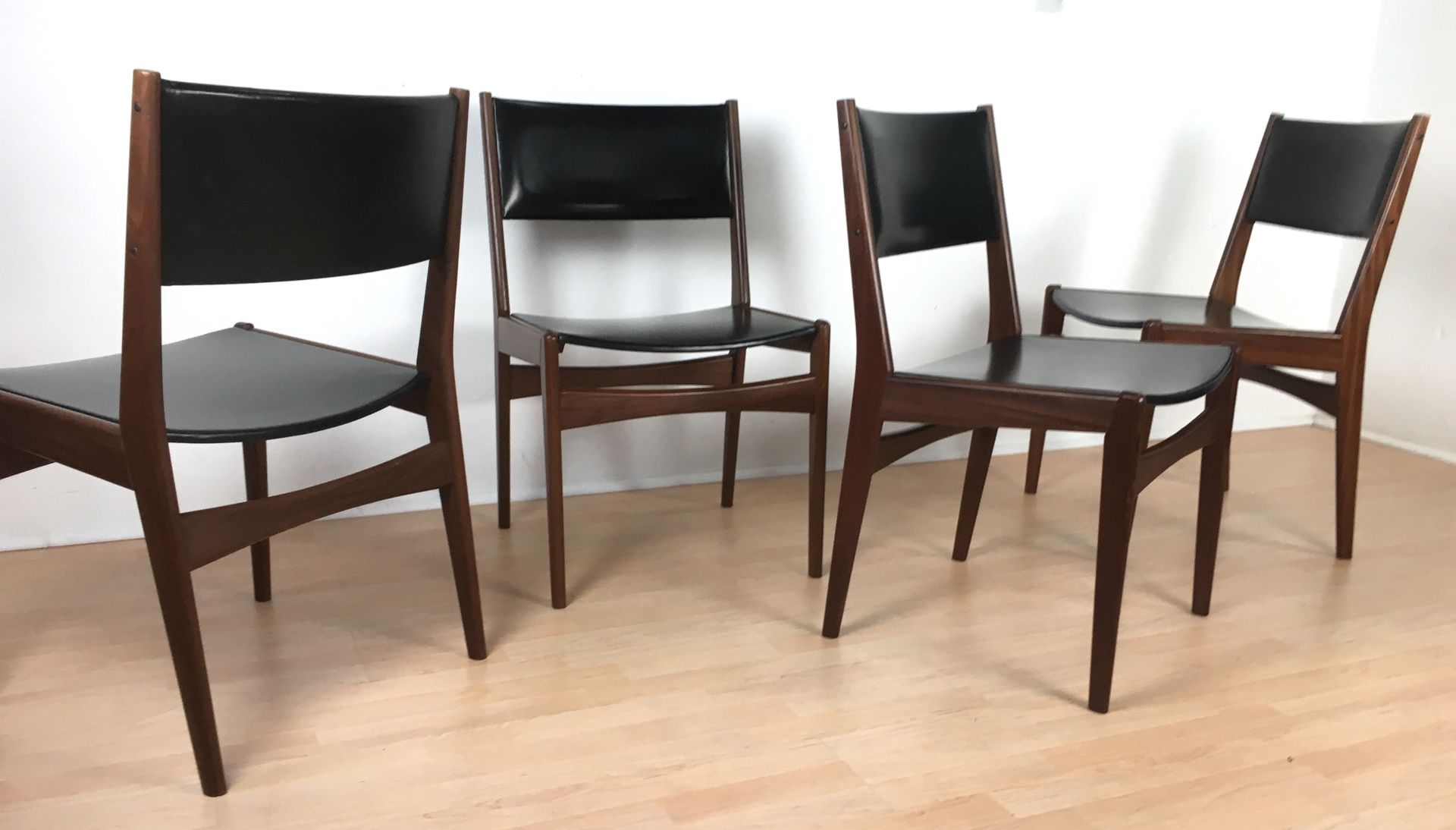 Danish Teak Chairs From Frem Røjle, 1960s, Set Of 4