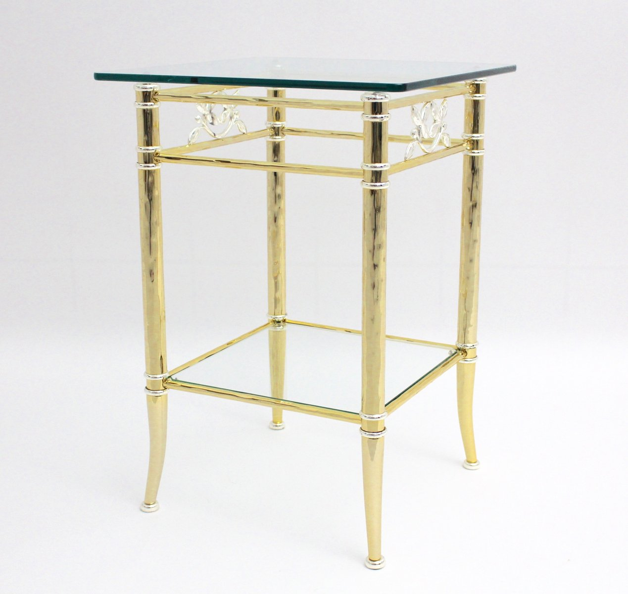 Amazing French Hollywood Regency Side Table, 1970s