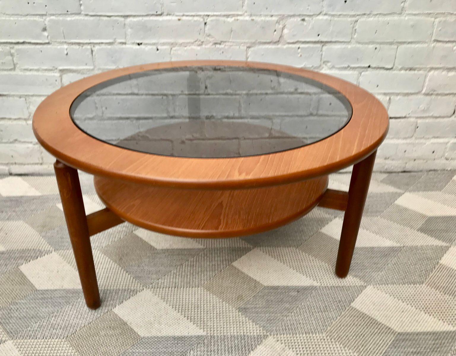 Vintage Glass Coffee Table 98