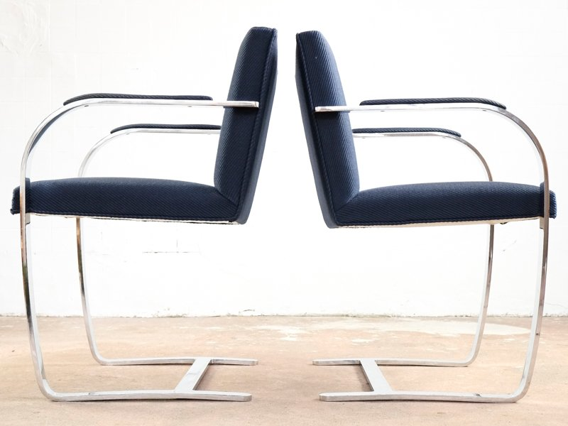 Brno Chairs By Ludwig Mies Van Der Rohe For Knoll