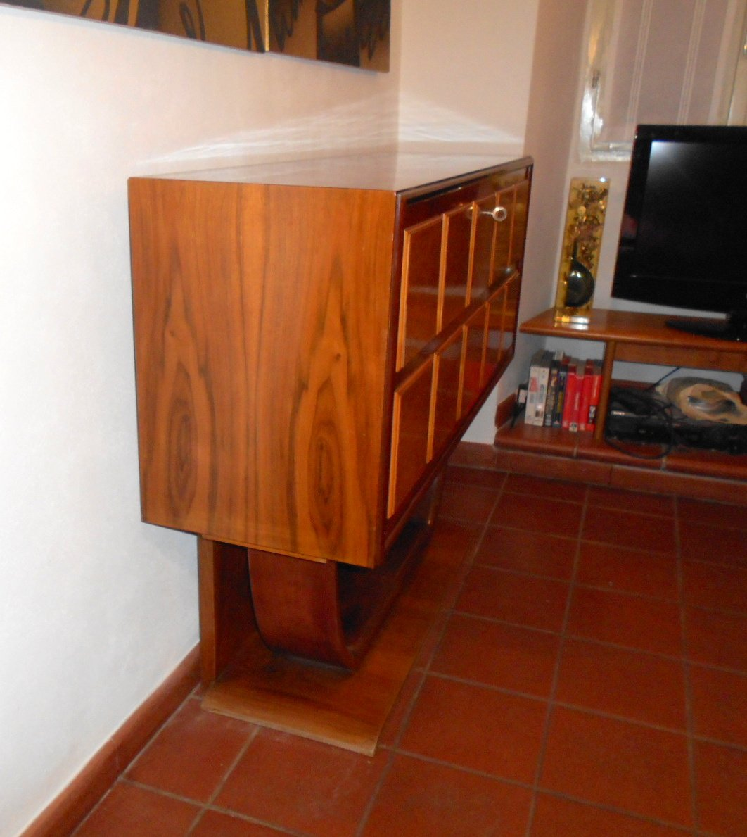 Bar cabinet by osvaldo borsani 1940s for sale at pamono for 1940s kitchen cabinets for sale