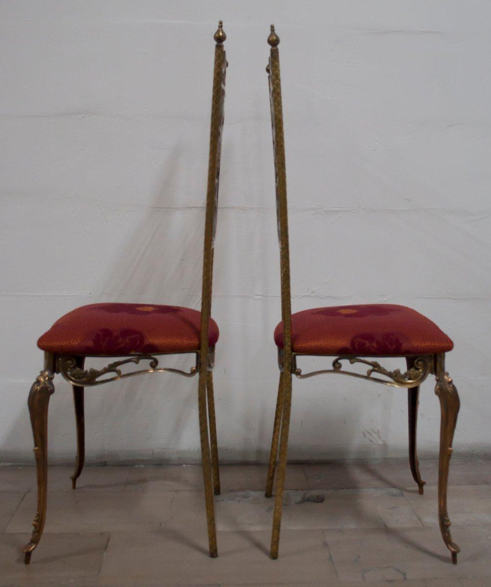italienische st hle im neoklassizistischen stil 1950er 2er set bei pamono kaufen. Black Bedroom Furniture Sets. Home Design Ideas