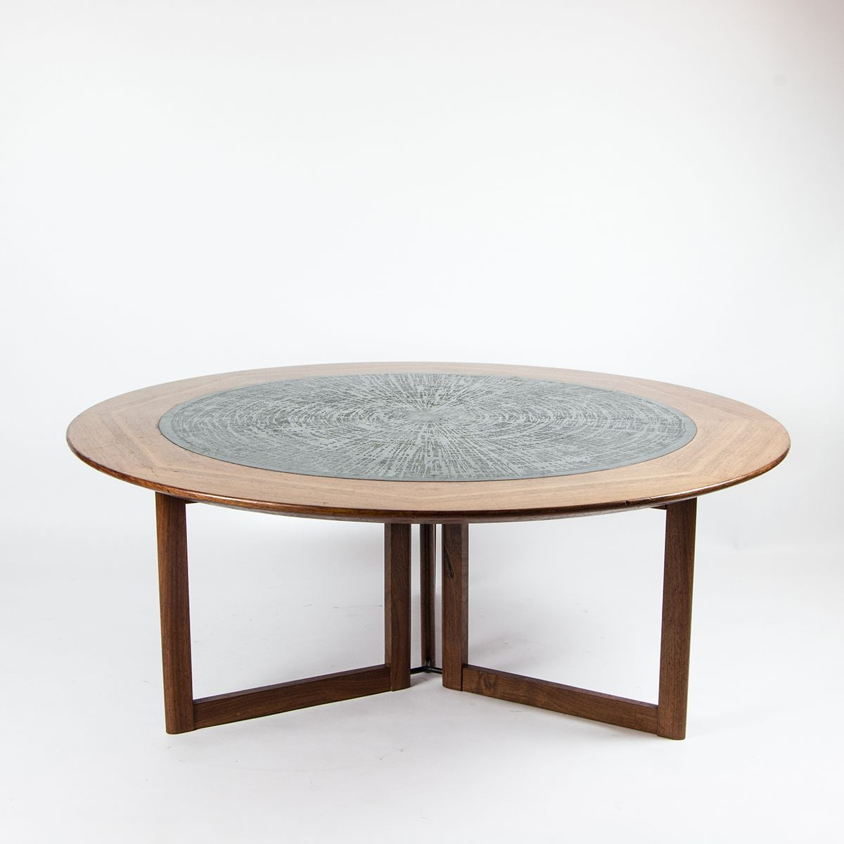 Vintage Rosewood Coffee Table, 1970s For Sale At Pamono