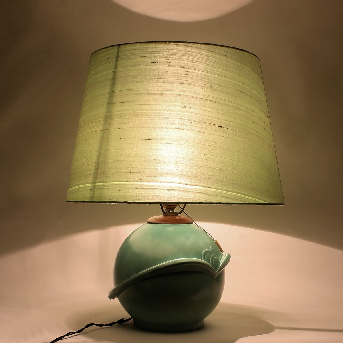 Tischleuchte aus keramik 1930er bei pamono kaufen for Keramik tischleuchte