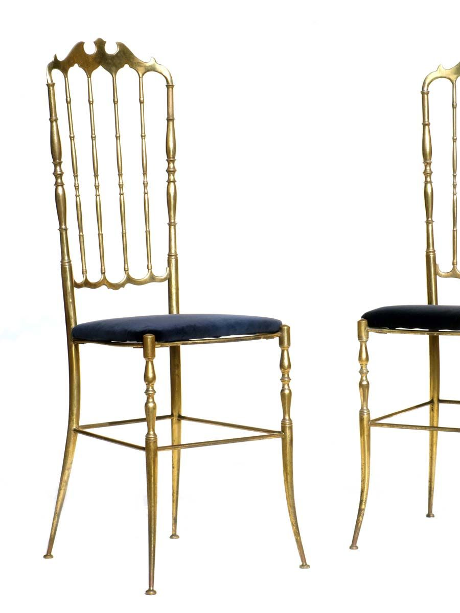 Mid Century Italian Chairs 1950s Set Of 2 For Sale At Pamono
