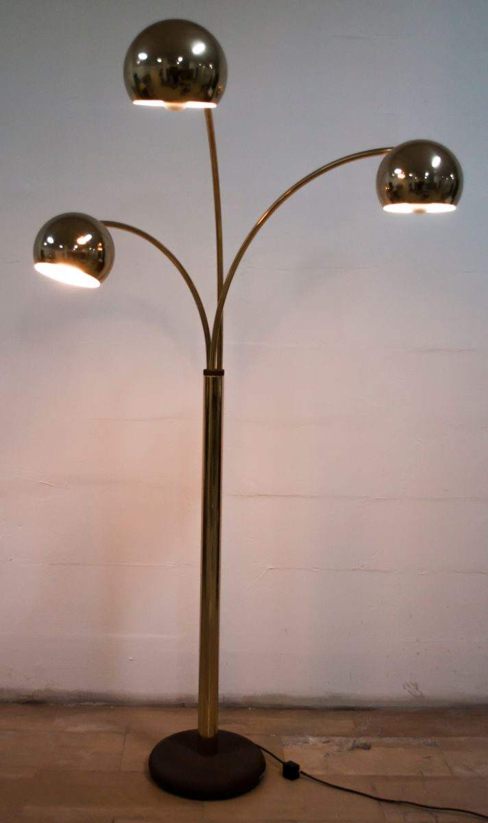 Vintage Floor Lamp by Goffredo Reggiani for Reggiani, 1970s for sale at Pamono