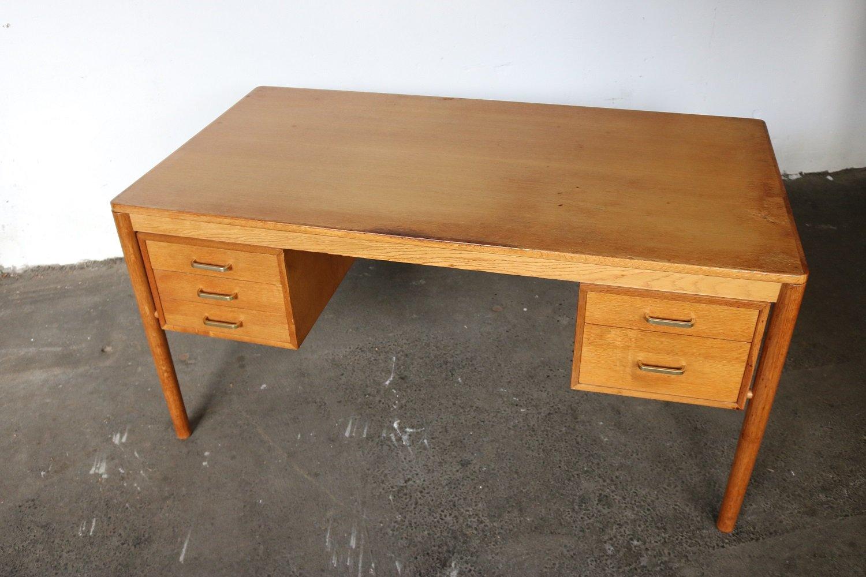 niederl ndischer mid century schreibtisch von topform 1960er bei pamono kaufen. Black Bedroom Furniture Sets. Home Design Ideas