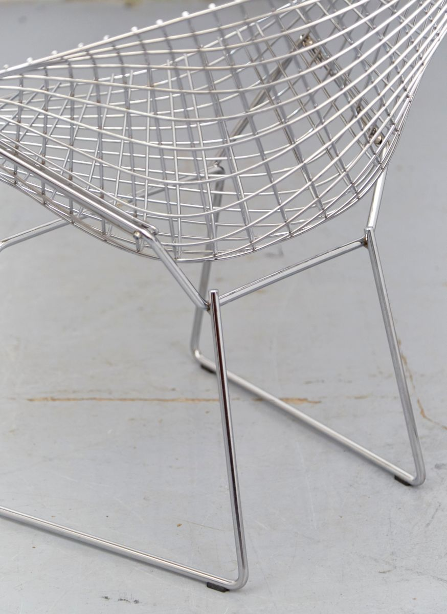 Vintage Diamond Chair by Harry Bertoia for Knoll International for ...