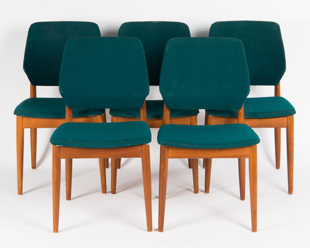 Swedish dining room chairs 1960s set of 5 for sale at pamono for 5 dining room chairs