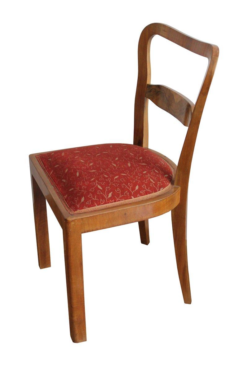 esszimmerst hle 1930er 4er set bei pamono kaufen. Black Bedroom Furniture Sets. Home Design Ideas