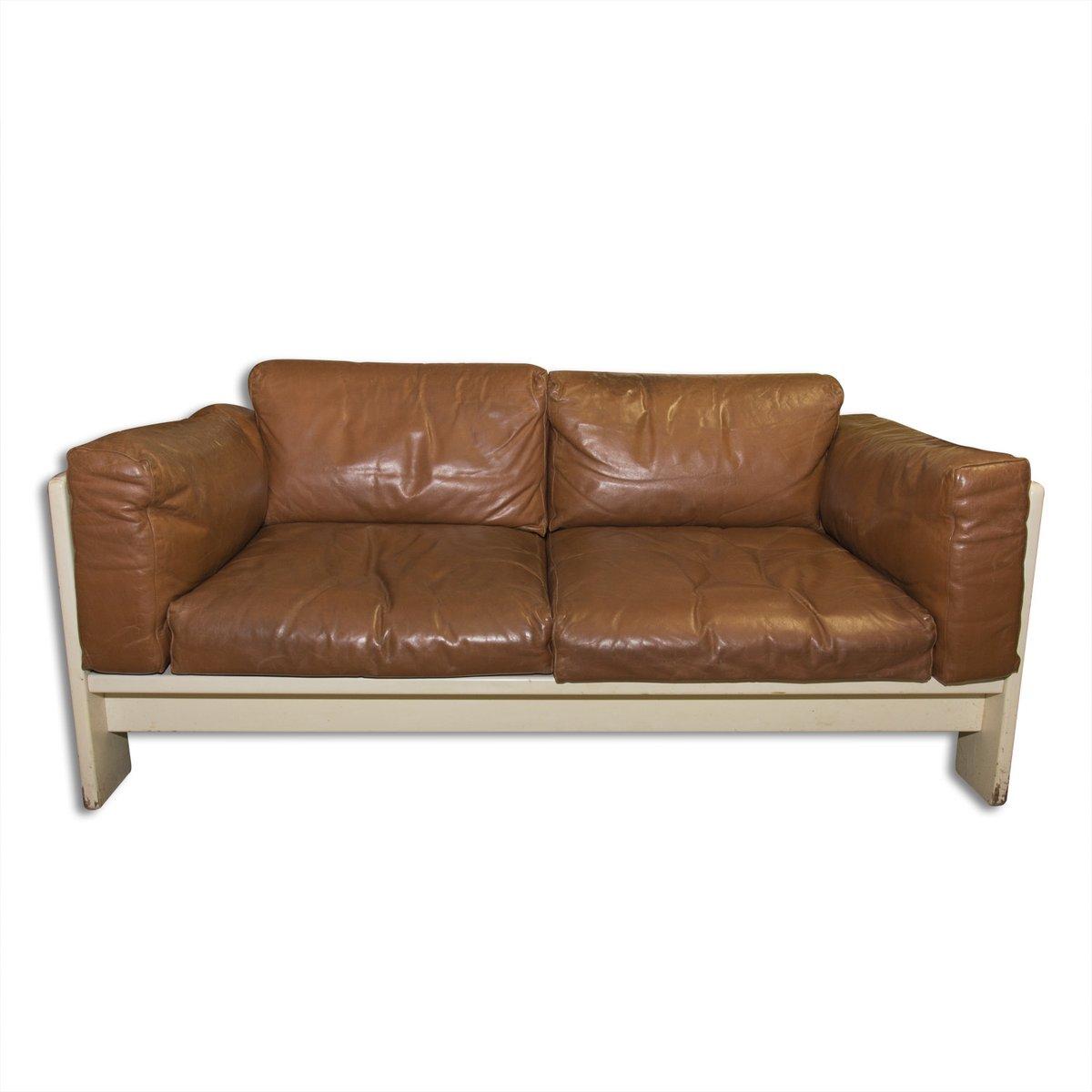 2 sitzer bastiano ledersofa von afra tobia scarpa. Black Bedroom Furniture Sets. Home Design Ideas