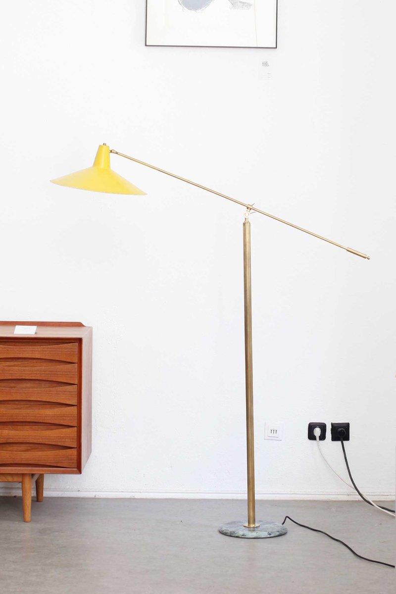 italienische stehlampe 1950er bei pamono kaufen. Black Bedroom Furniture Sets. Home Design Ideas