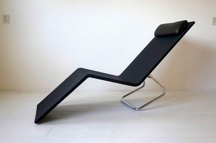 mvs chaise lounge by maarten van severen for vitra 2000 for sale at pamono. Black Bedroom Furniture Sets. Home Design Ideas