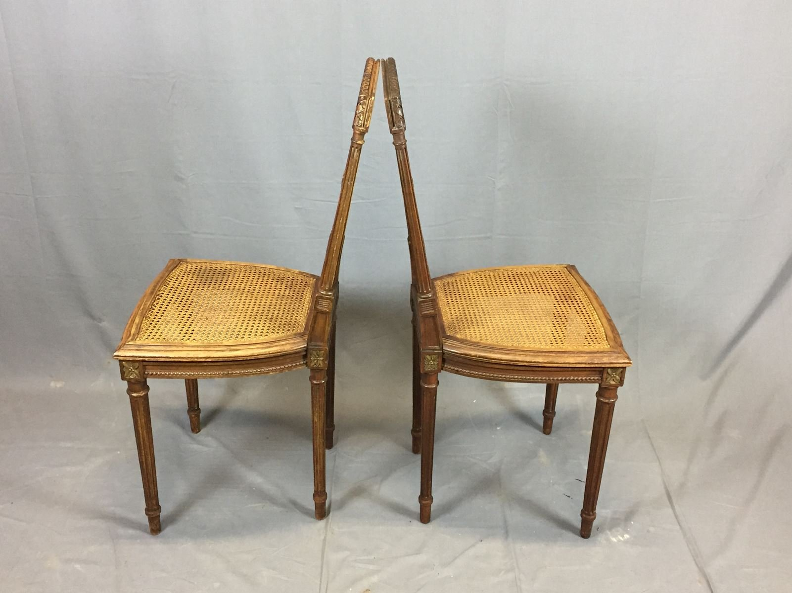 vintage oak dining chairs set of 2 for sale at pamono