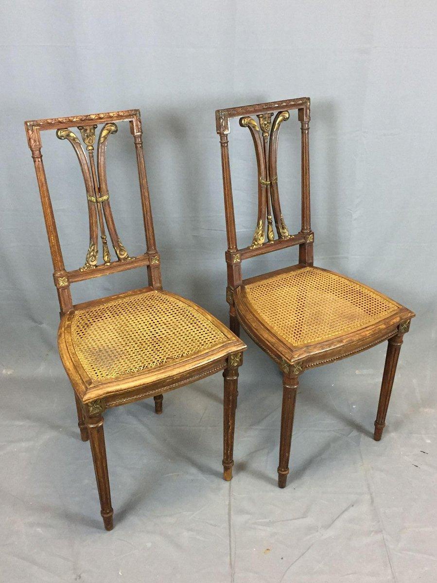 vintage oak dining chairs set of 2 for sale at pamono. Black Bedroom Furniture Sets. Home Design Ideas