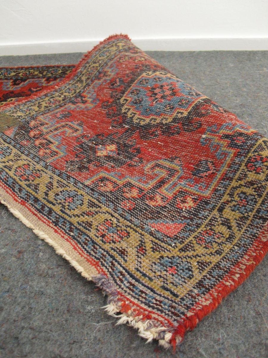 Vintage Wool Rug 114