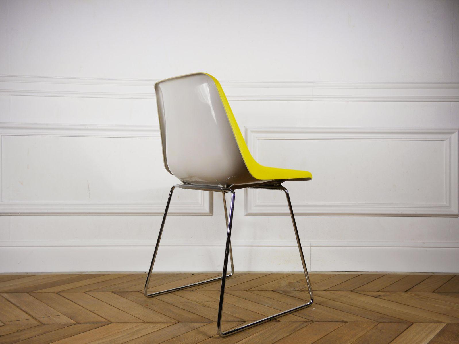 mid century stuhl von robin lucienne day f r hille. Black Bedroom Furniture Sets. Home Design Ideas
