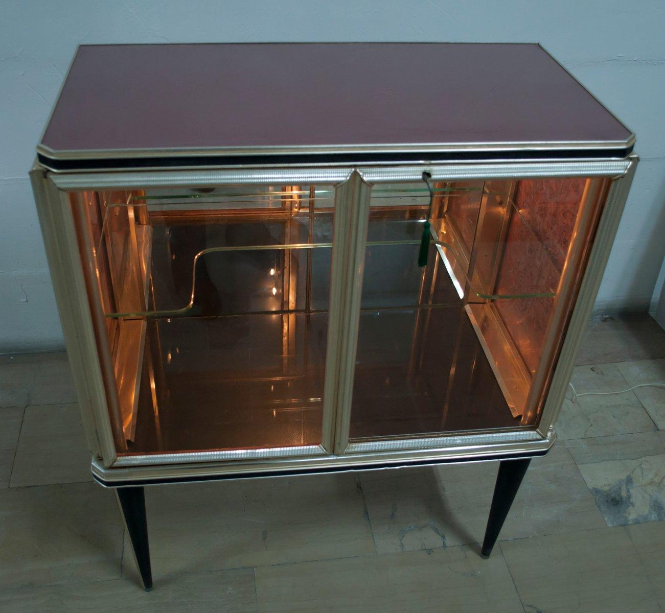 Vintage italian mobile bar cabinet by umberto mascagni 1940s for sale at pamono - Mobile bar vintage ...