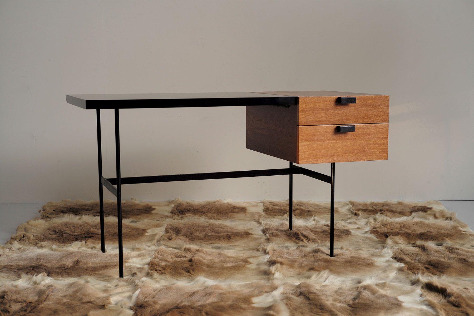 bureau cm 141 par pierre paulin pour thonet 1953 en vente sur pamono. Black Bedroom Furniture Sets. Home Design Ideas
