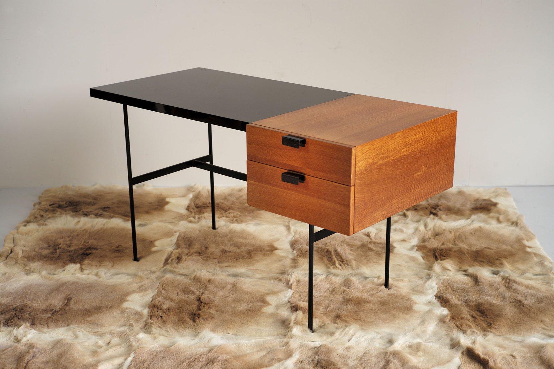 cm 141 schreibtisch von pierre paulin f r thonet 1953 bei. Black Bedroom Furniture Sets. Home Design Ideas