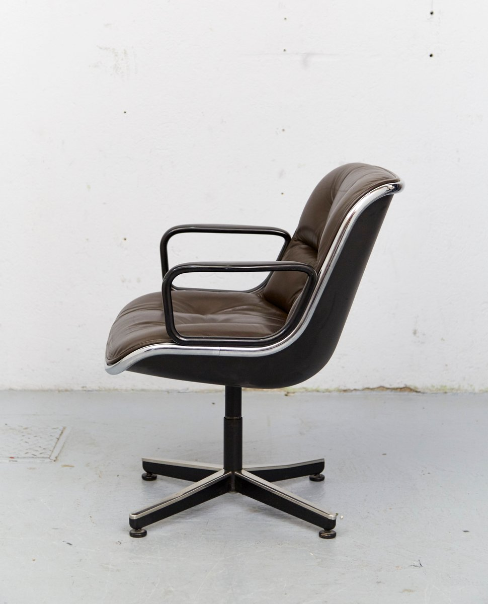 Executive Chair by Charles Pollock for Knoll Inc, 1965 for sale at ...