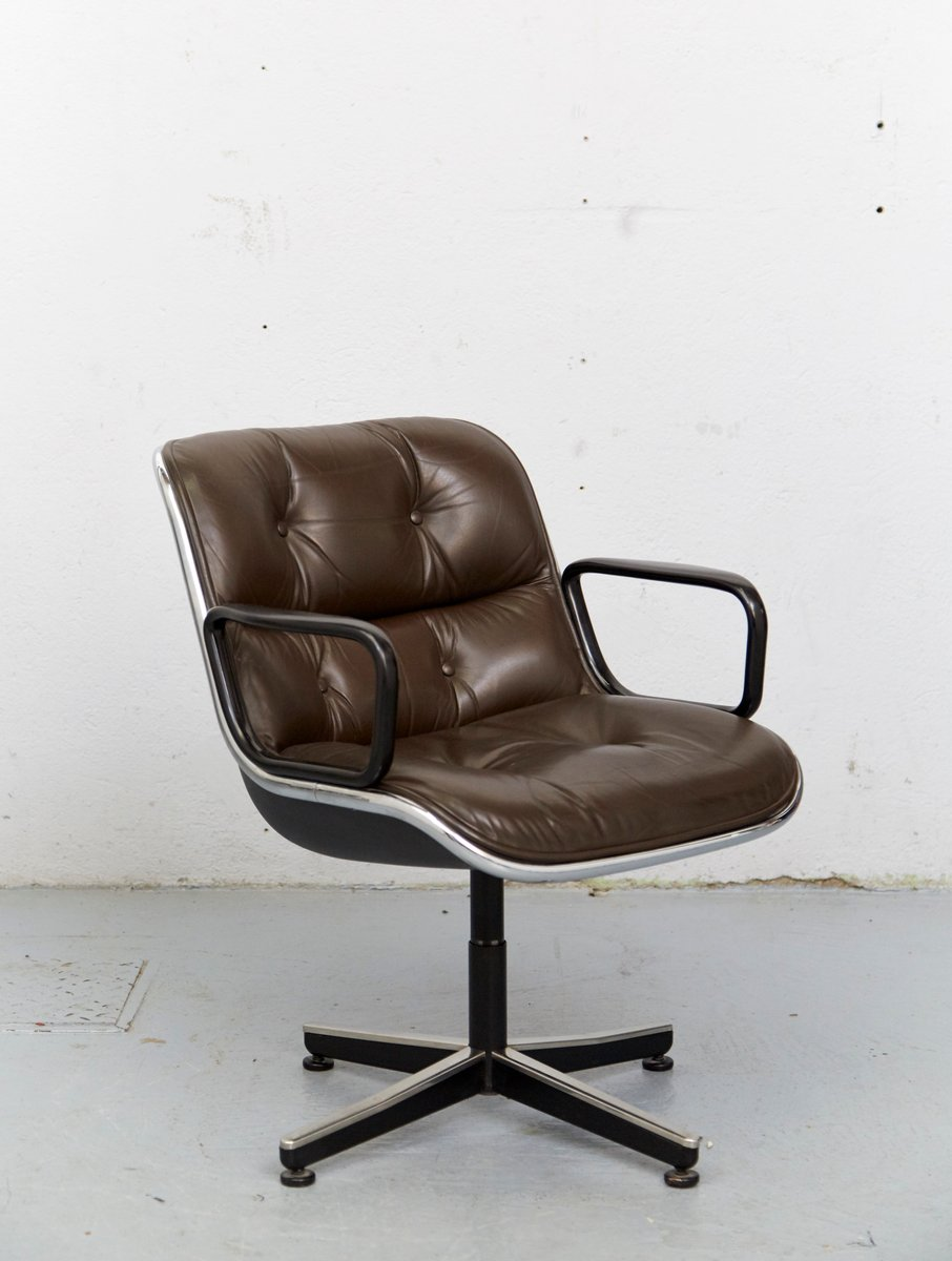 Executive chair by charles pollock for knoll inc 1965 for sale at pamono - Knoll inc chairs ...