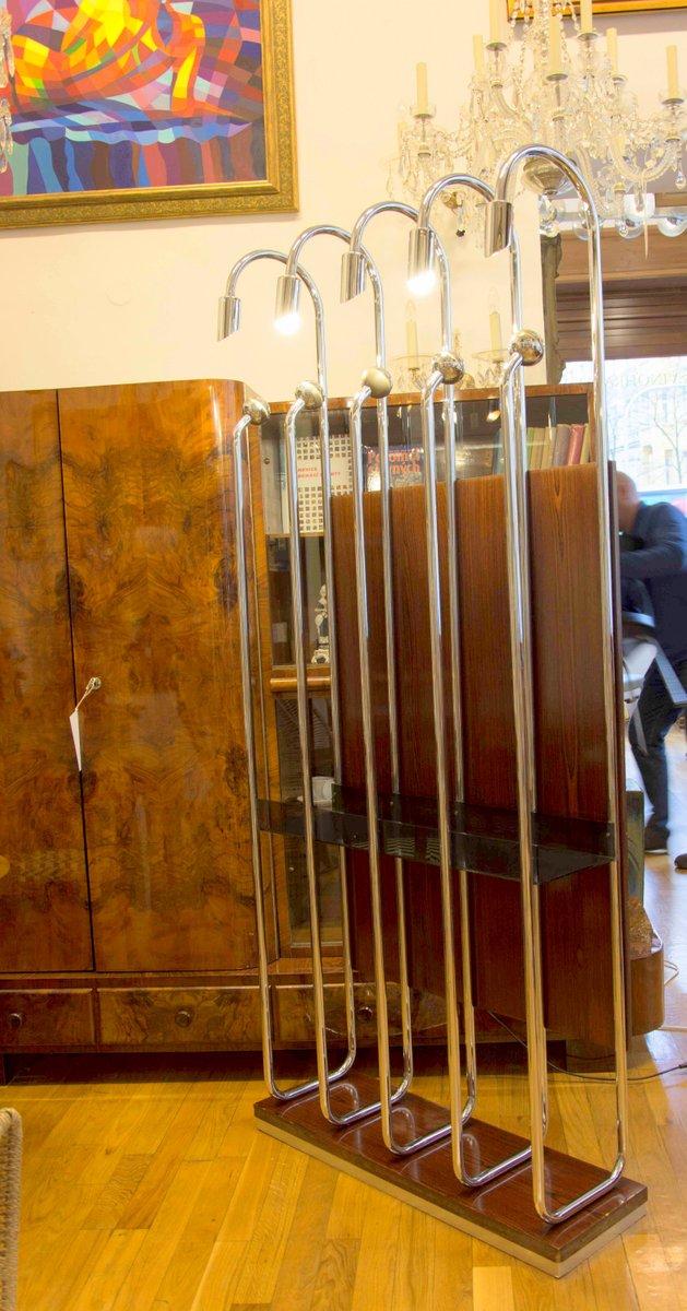Verchromte italienische garderobe 1970er bei pamono kaufen for Garderobe italienisches design