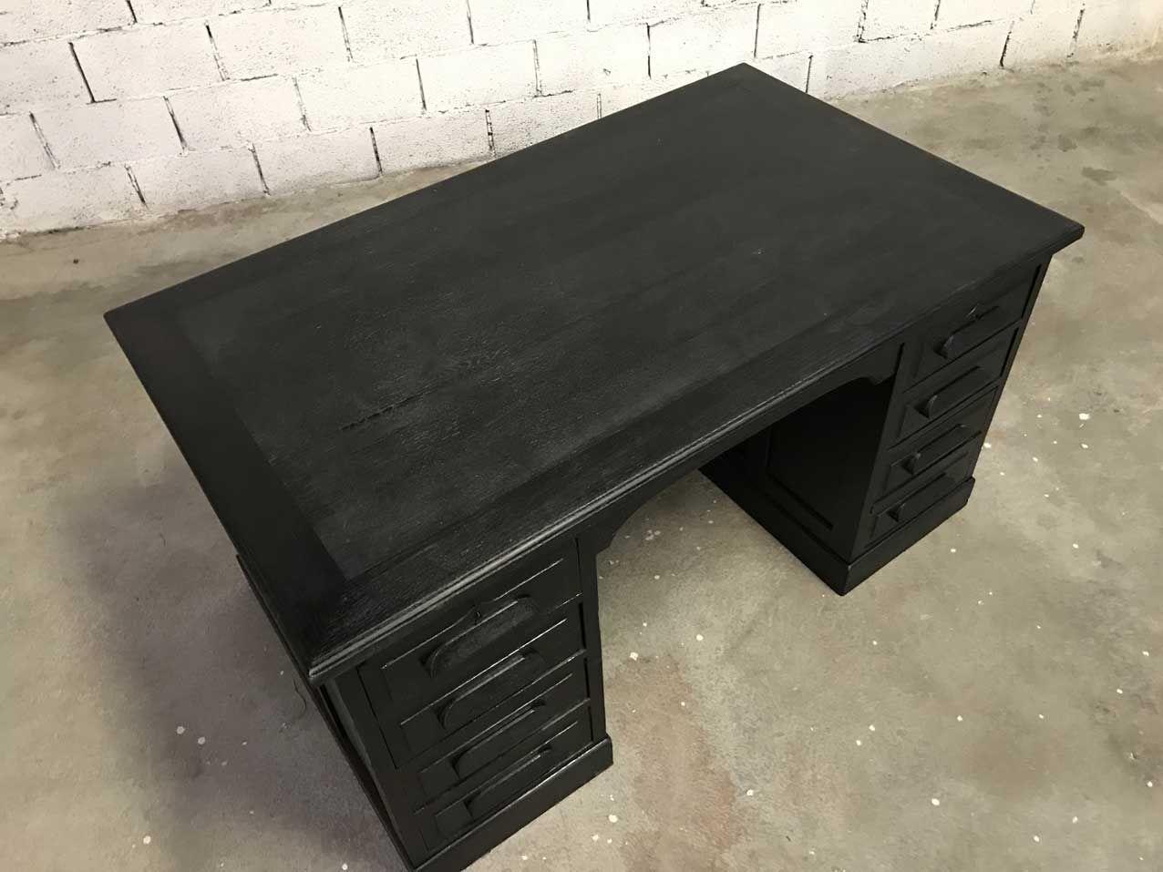 vintage minister schreibtisch bei pamono kaufen. Black Bedroom Furniture Sets. Home Design Ideas
