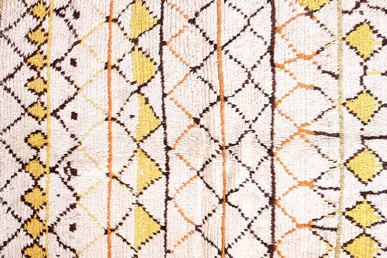marokkanischer vintage azilal teppich 1960er bei pamono. Black Bedroom Furniture Sets. Home Design Ideas