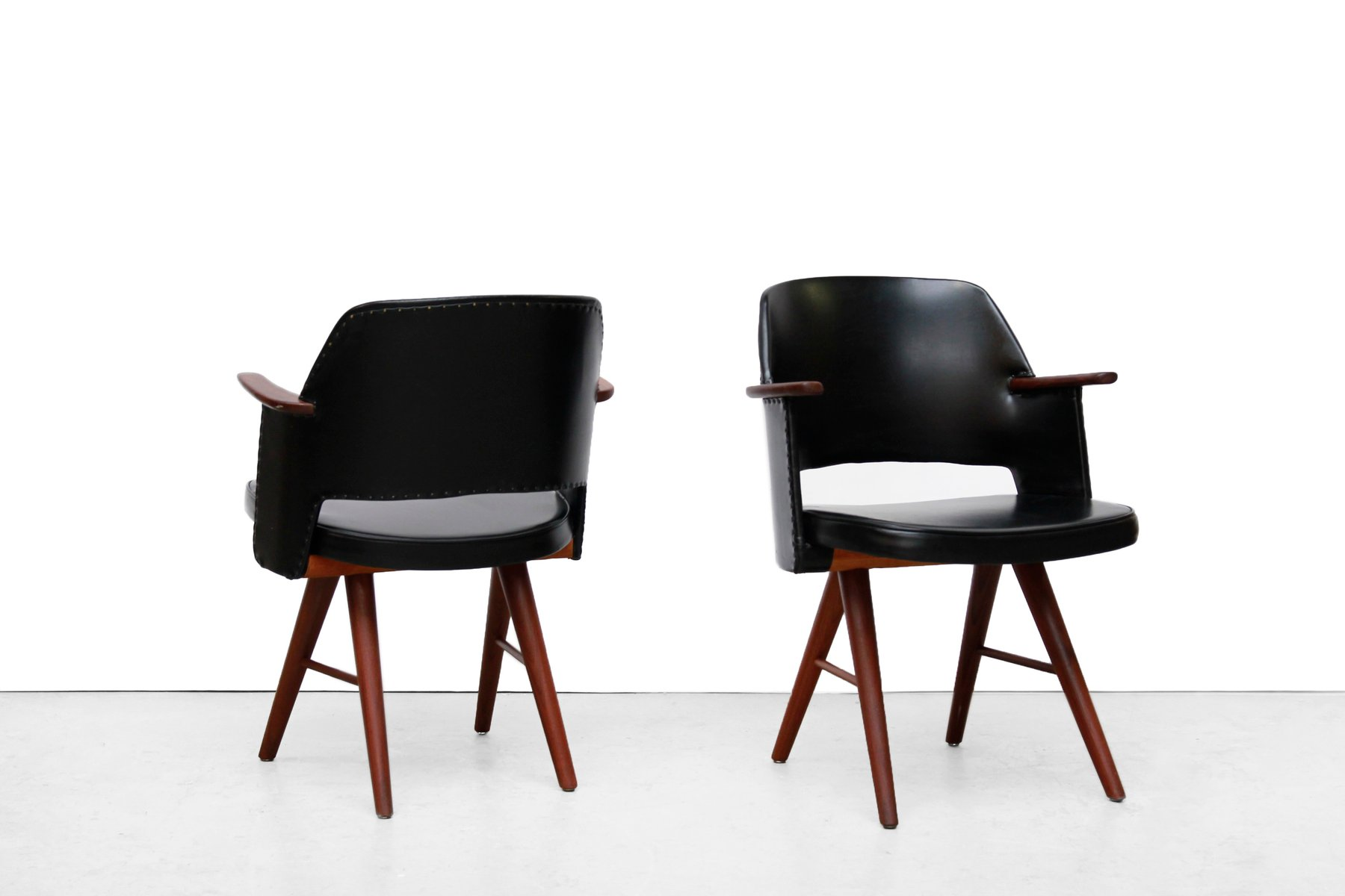 FT30 Dining Room Chairs By Cees Braakman For Pastoe 1950s Set Of 4