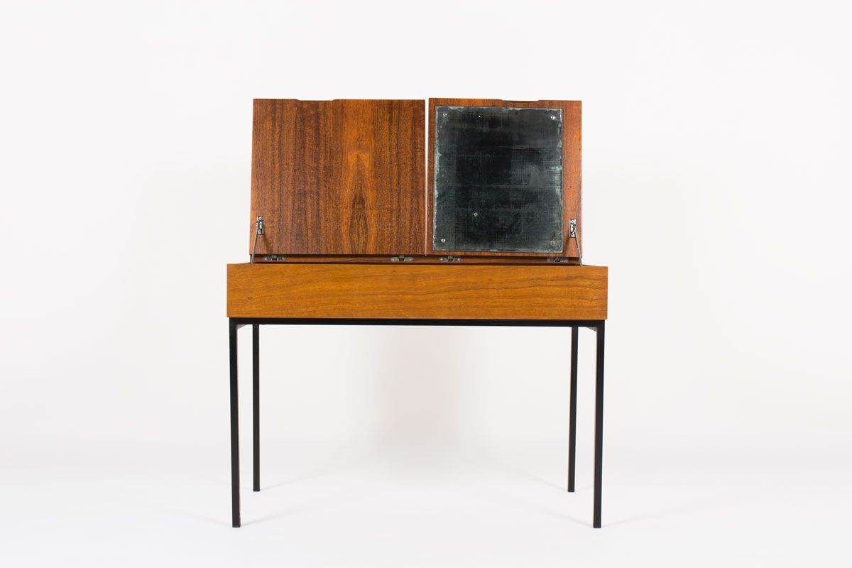 dressing table model 810 by andre monpoix for meuble tv 1960s for sale at pamono. Black Bedroom Furniture Sets. Home Design Ideas