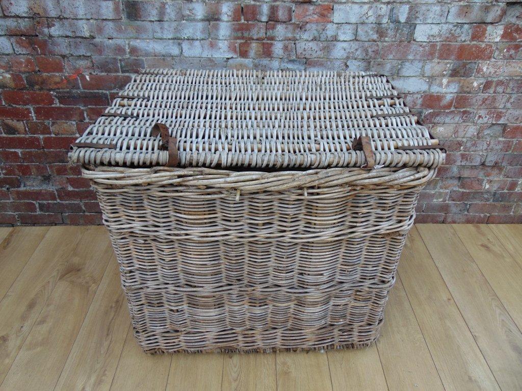 Industrial Vintage Linen Basket For Sale At Pamono