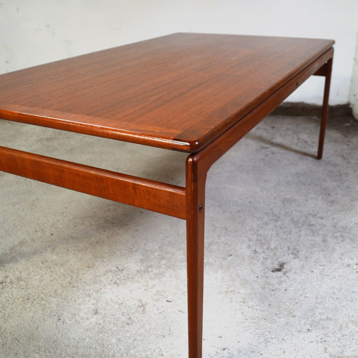 Danish Teak Coffee Table From Trioh 1970s For Sale At Pamono