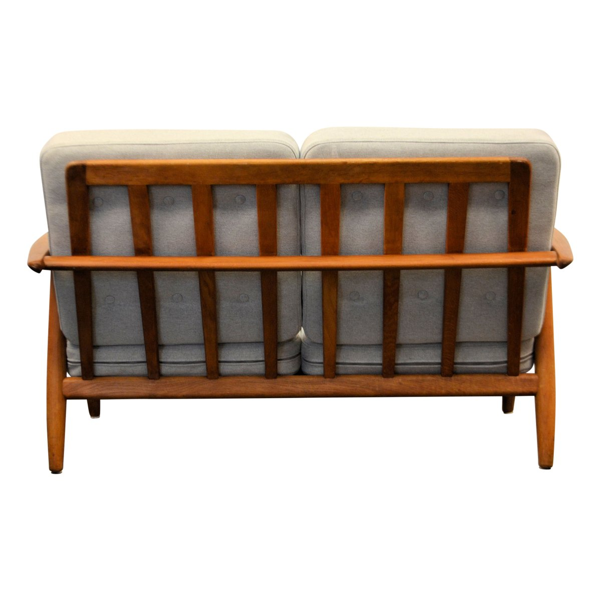 Mid Century Cigar Ge 240 Oak Sofa By Hans J Wegner For Getama For Sale At Pamono