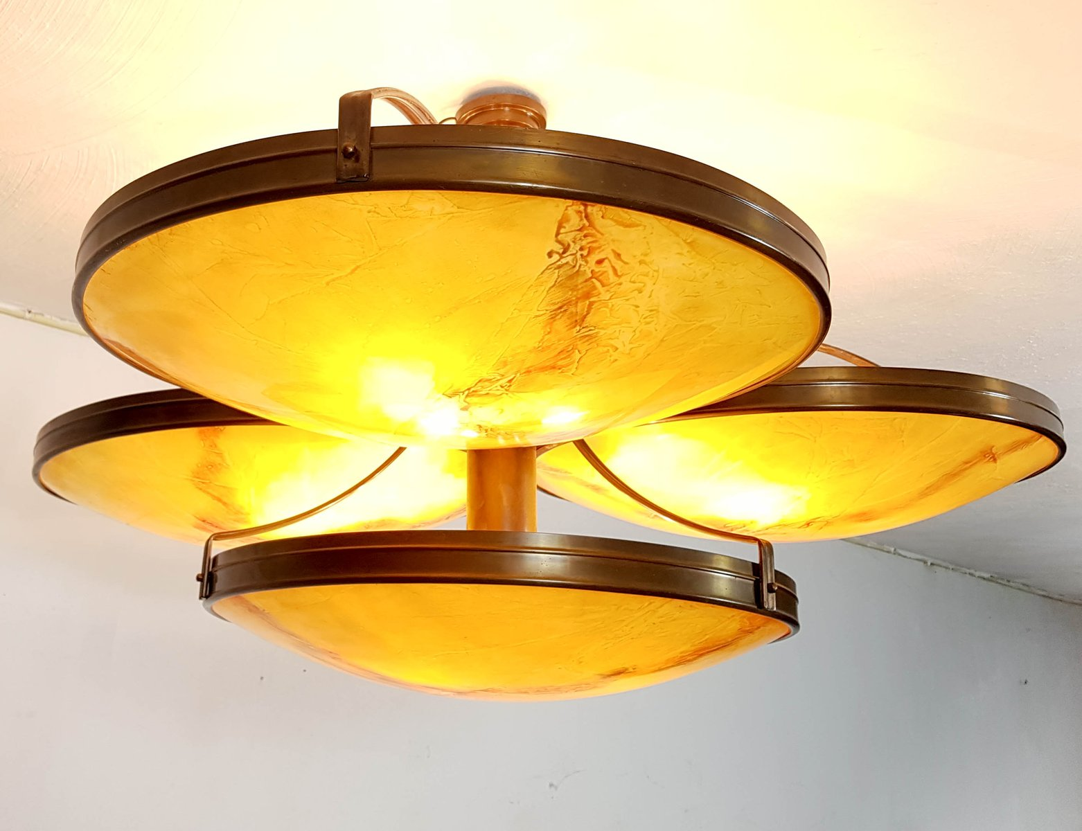 Large Pendant Lamp 1989 For Sale At Pamono