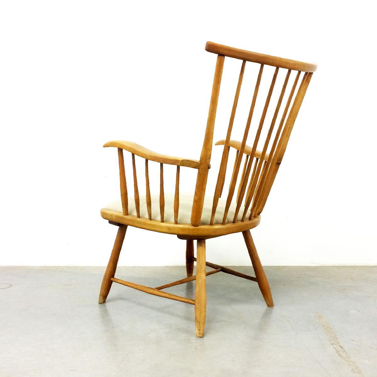 fauteuil wk s7 par arno lambrecht pour wk m bel 1950s en vente sur pamono. Black Bedroom Furniture Sets. Home Design Ideas