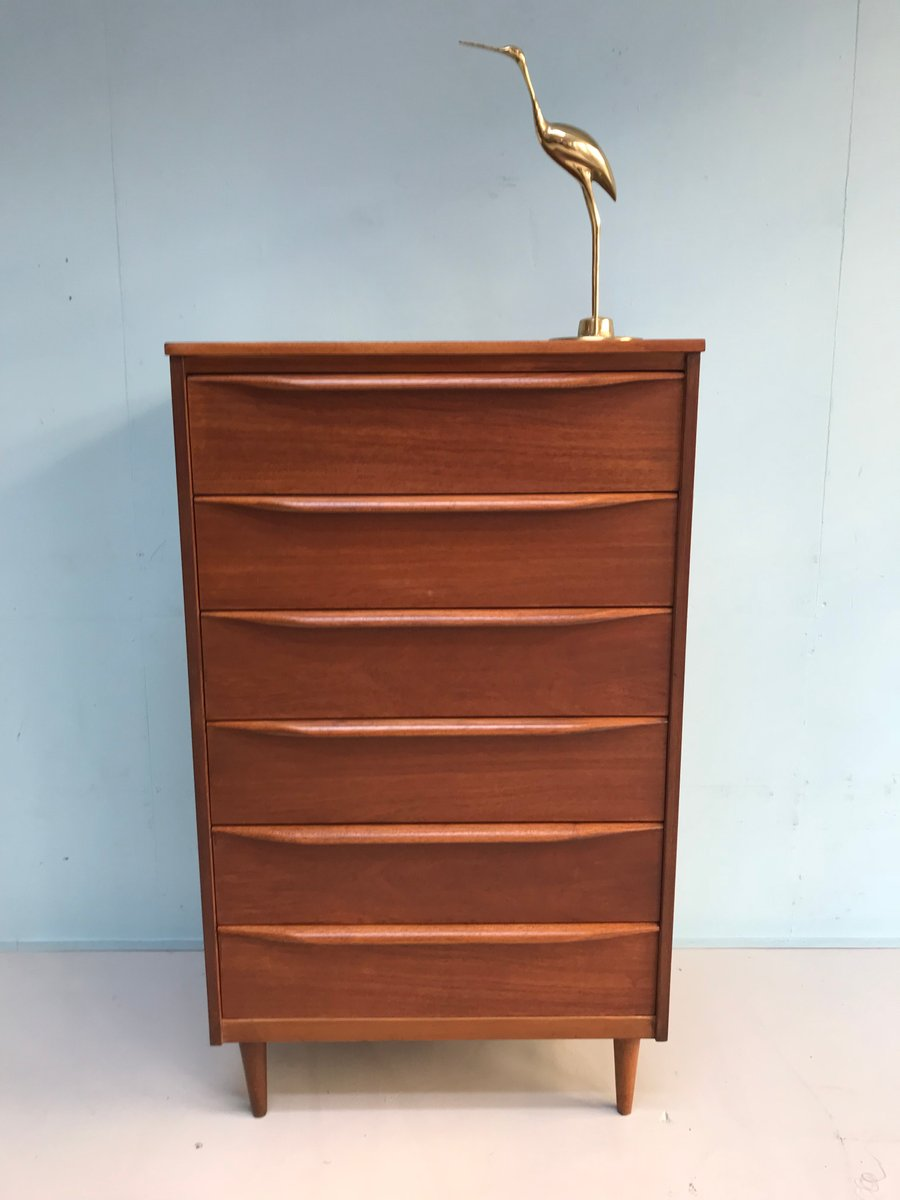 mid century teak kommode von franck guille f r austinsuite bei pamono kaufen. Black Bedroom Furniture Sets. Home Design Ideas