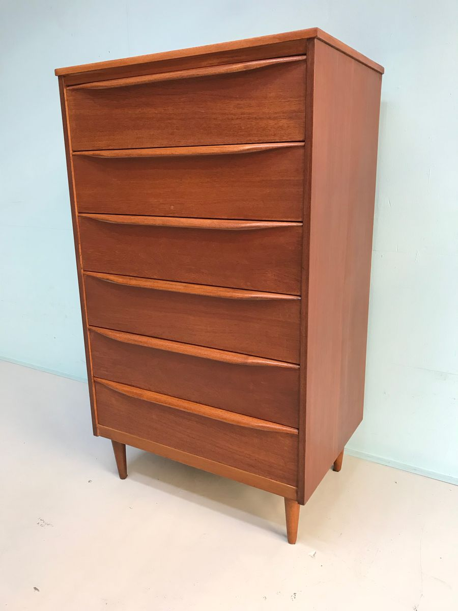 mid century teak kommode von franck guille f r austinsuite bei pamono kaufen. Black Bedroom Furniture Sets. Home Design Ideas