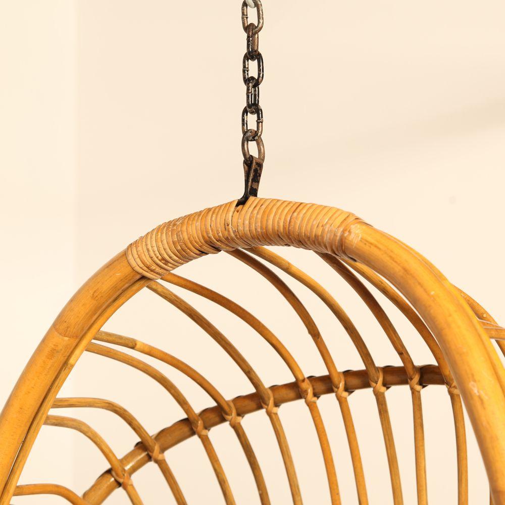dutch rattan hanging chair