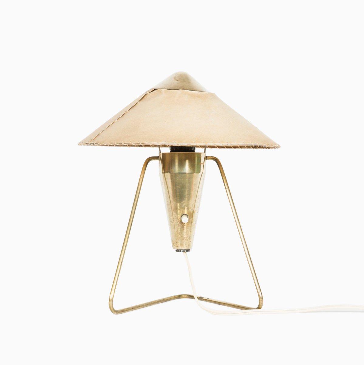 Messing Lampe, 1960er bei Pamono ka
