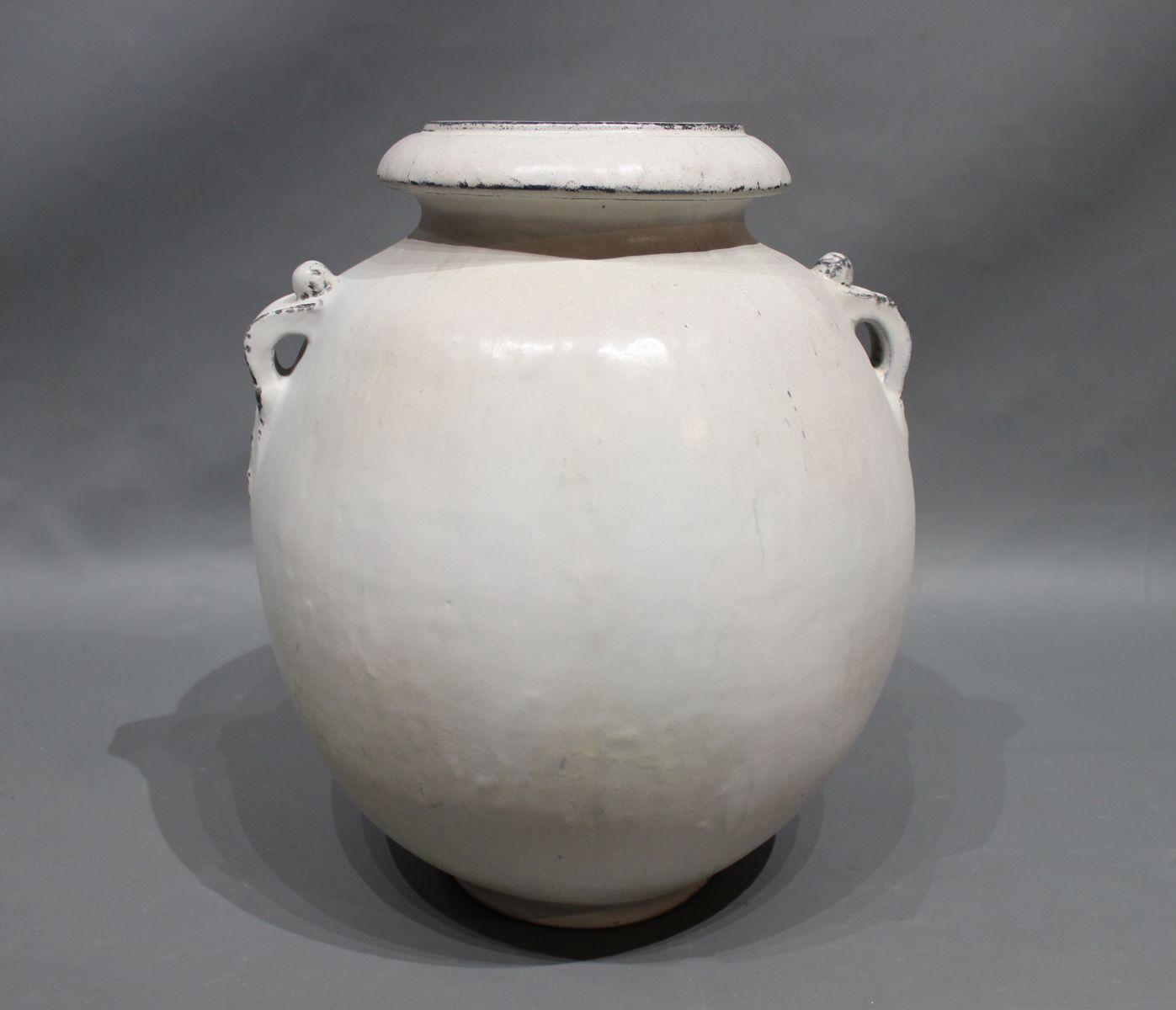 mid century large vase by svend hammersh j for herman a k hler 1950s for sale at pamono. Black Bedroom Furniture Sets. Home Design Ideas