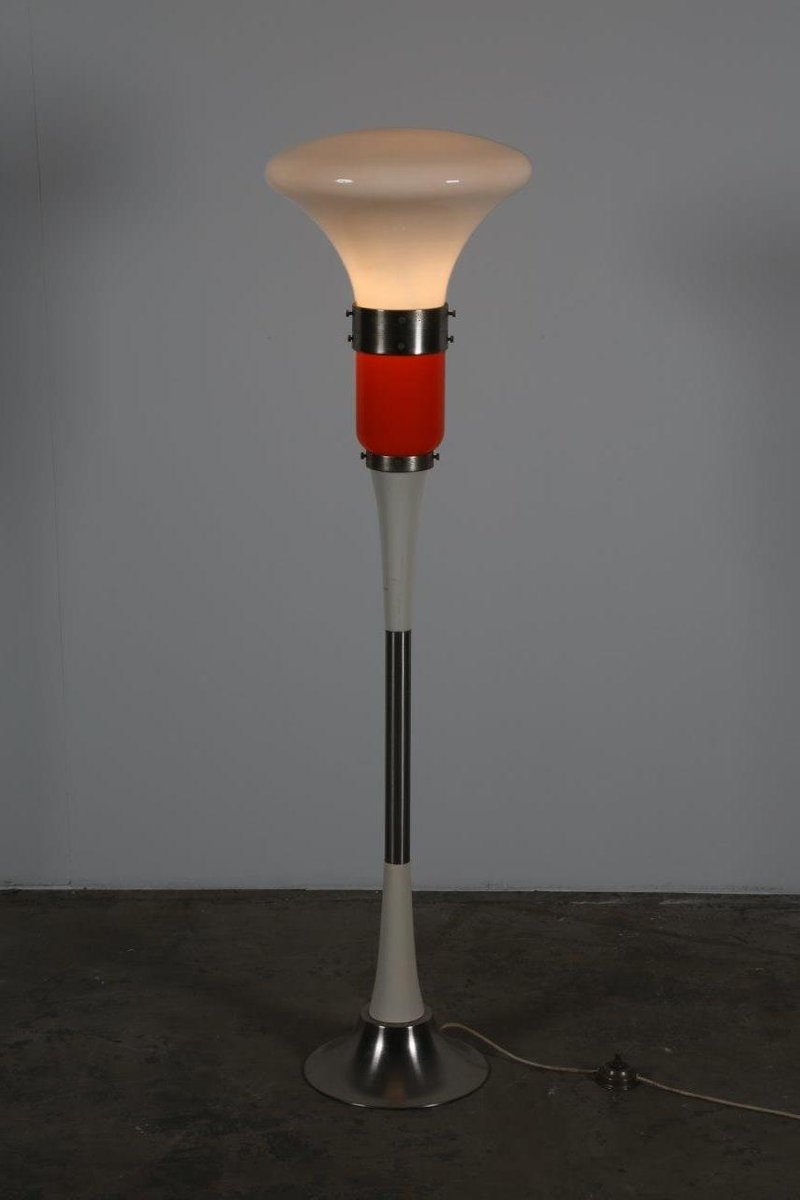 Floor lamp from mazzega 1970s for sale at pamono for 1970s floor lamps