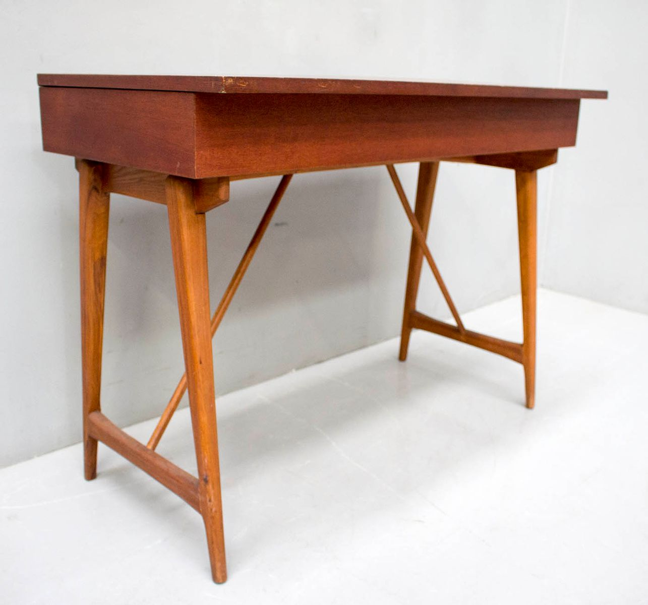Table Dressing Wood 1950 Scarved ~ Dressing table s for sale at pamono