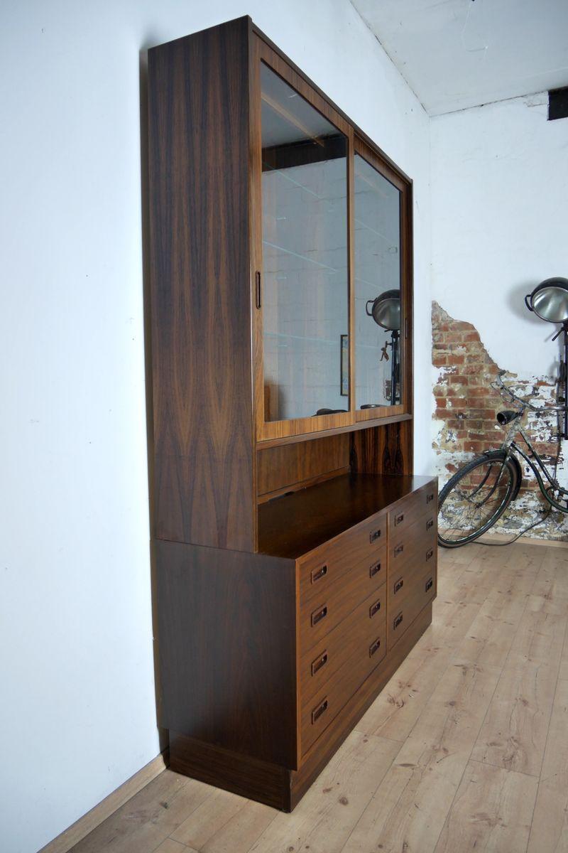 vintage schrank aus palisander von poul hundevad f r hundevad co 1970er bei pamono kaufen. Black Bedroom Furniture Sets. Home Design Ideas