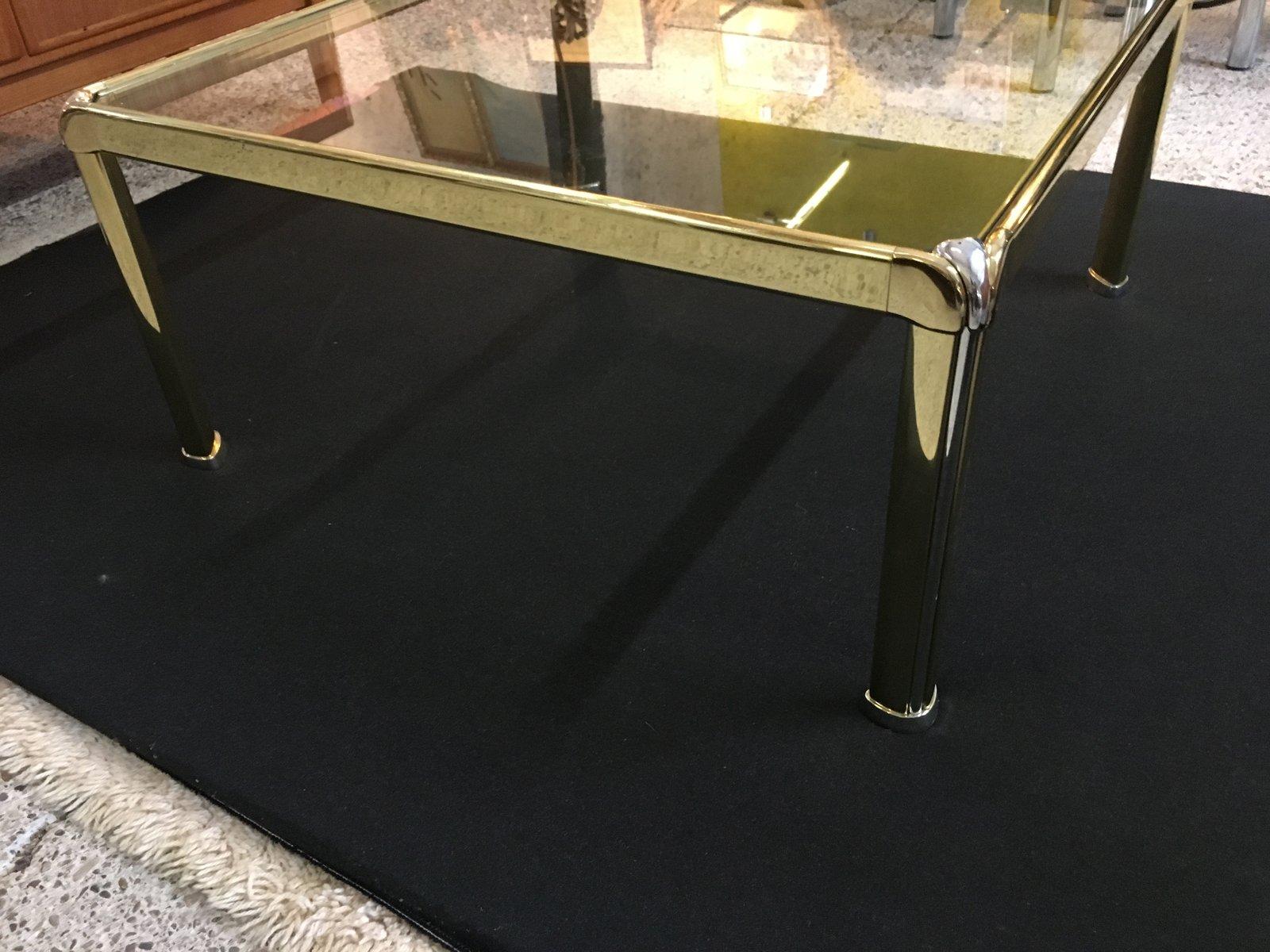 messing couchtisch von liparini bei pamono kaufen. Black Bedroom Furniture Sets. Home Design Ideas